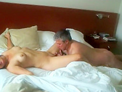 Spying a milf getting explosive orgasm