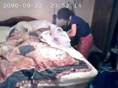 Hidden cam in my mom bedroom