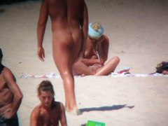 Mature nudist voyeur beach cam video