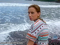 Amazing pornstar Jean Taylor in Best Fingering, Beach xxx movie