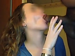 Wife returns to hotel with her BBC